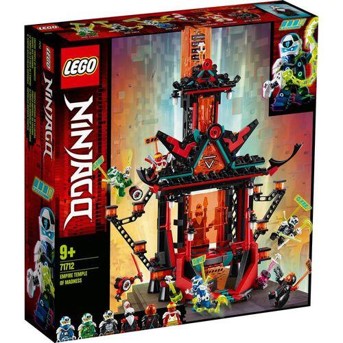 LEGO樂高幻影忍者系列 帝國瘋狂神廟 71712