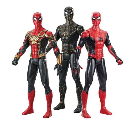 Marvel漫威蜘蛛人3電影12吋泰坦英雄人物組- 隨機發貨