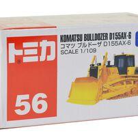 Tomica多美 No﹒56 Komatsu Bulldozer D155Ax-6