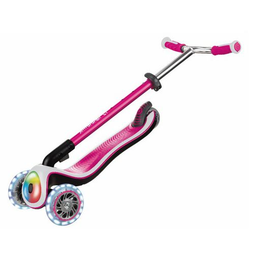 Globber高樂寶 升級版滑板車 粉紅
