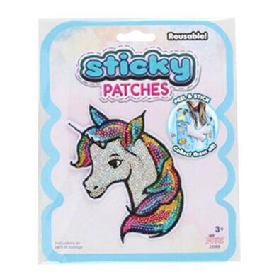 Sticky Patches黏黏補丁 DIY獨角獸紡織布貼