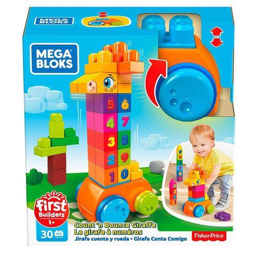 Mega Bloks美高積木數字學習長頸鹿