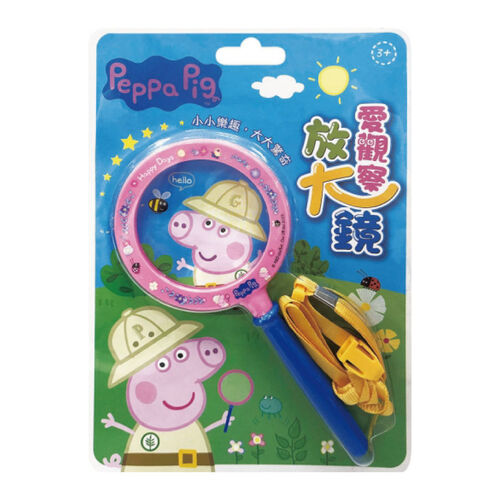 Peppa Pig粉紅豬小妹 愛觀察放大鏡
