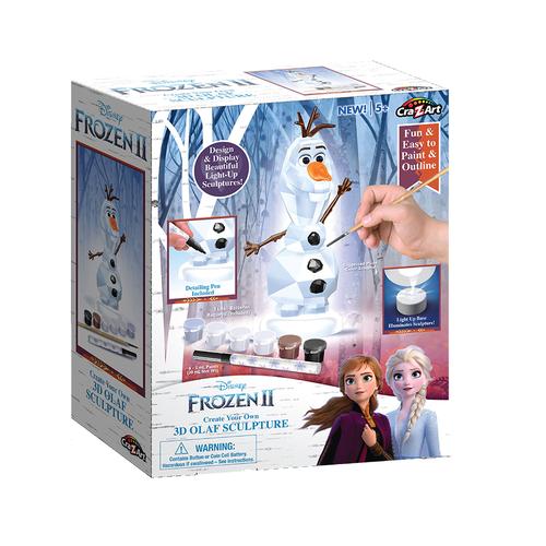 Cra-Z-Art Disney Frozen迪士尼冰雪奇緣彩繪燈飾 - 隨機發貨