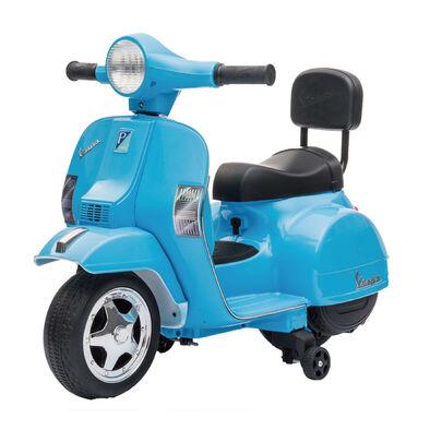 LUNG TZUAN Vespa PX150 迷你偉士牌兒童電動機車 藍