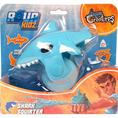 Eolo鯊魚水槍手套-藍
