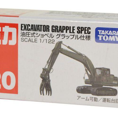 Tomica多美 No﹒120 Excavator Grapple Spec