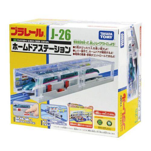 Plarail鐵道王國 J-26 新地下車站(無附火車、軌道、人偶)