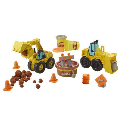 Play-Doh培樂多車輪系列 怪手組