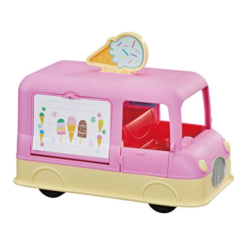 Peppa Pig粉紅豬小妹 冰淇淋車音效遊戲組