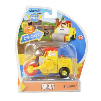 Robocar Poli波力救援小英雄 合金車系列 麥斯 - 隨機發貨