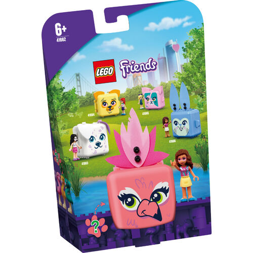 LEGO樂高 41662 寵物秘密寶盒-奧麗薇亞的紅鶴
