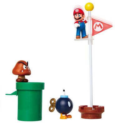 Mario Toys瑪琍歐 任天堂2.5吋橡栗平原5入組