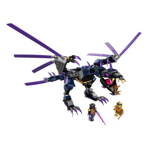 LEGO樂高忍者系列 龍與黑暗島主 - 71742