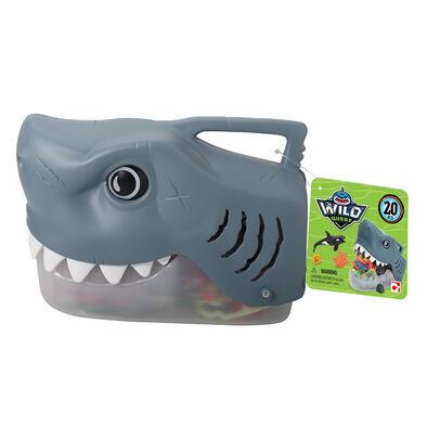 Wild Quest Ocean 海洋生物模型鯊魚收納桶