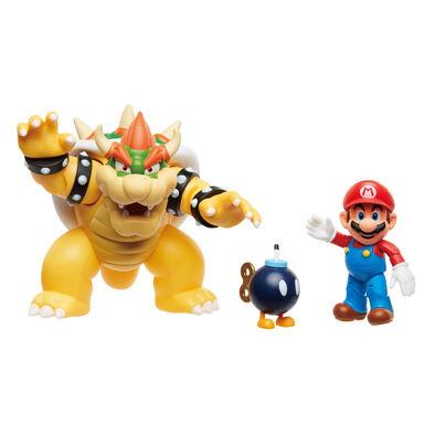 Nintendo任天堂super Mario 瑪利歐與庫巴對決組