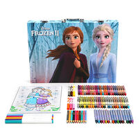 Crayola繪兒樂DiDisney Frozen迪士尼冰雪奇緣大藝術家套裝