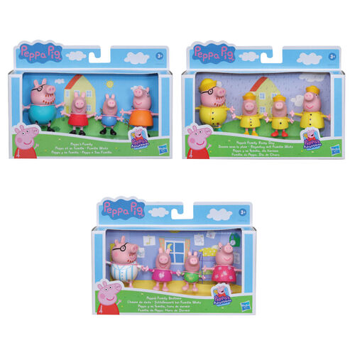 Peppa Pig粉紅豬小妹 佩佩豬家族角色組- 隨機發貨