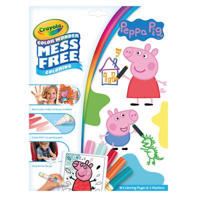 Crayola繪兒樂 神彩著色套裝-佩佩豬(紙盒) 粉紅豬小妹