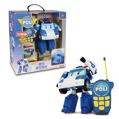 Robocar Poli波力救援小英雄 10吋變形遙控波力