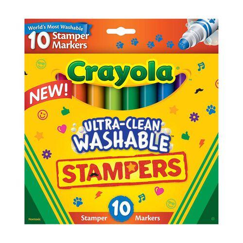 Crayola繪兒樂 超乾淨可水洗色筆組