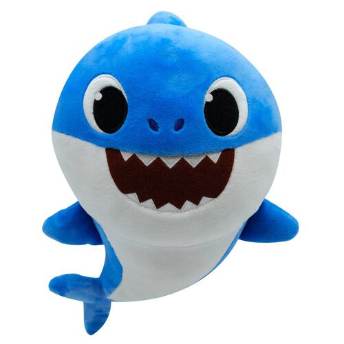 Pinkfong碰碰狐 鯊魚家族發聲絨毛-FATHER SHARK