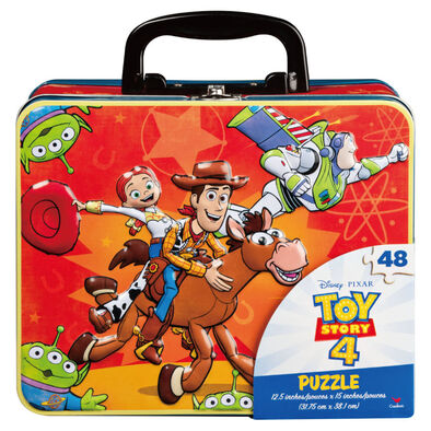 Toy Story 4 Puzzle in Tin with Handle