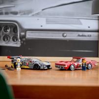 Lego樂高 76903 Chevrolet Corvette C8.R Race Car and 1968 Chevrolet Corvette