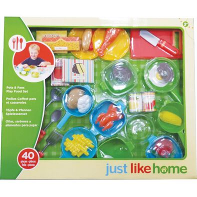 Just Like Home40件廚房類家家酒玩具
