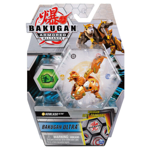 Bakugan爆丸 BP2-038 進階爆丸 守衛三頭犬 Ultra (金)