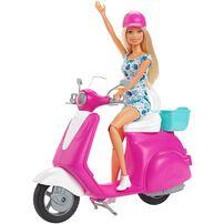 Barbie芭比娃娃摩托車配件組