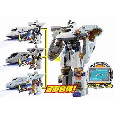 Plarail鐵道王國 新幹線變形機器人 DXS10 托尼提號