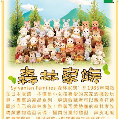 Sylvanian Families森林家族嬰兒遊戲小火車
