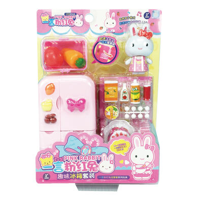Tai Sing大生 粉紅兔趣味冰箱