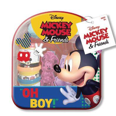 Disney迪士尼背著走黏土組