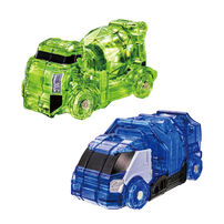 魔進武器系列03 DX魔進馬澤蘭(水泥車)&魔進達斯通(垃圾回收車)