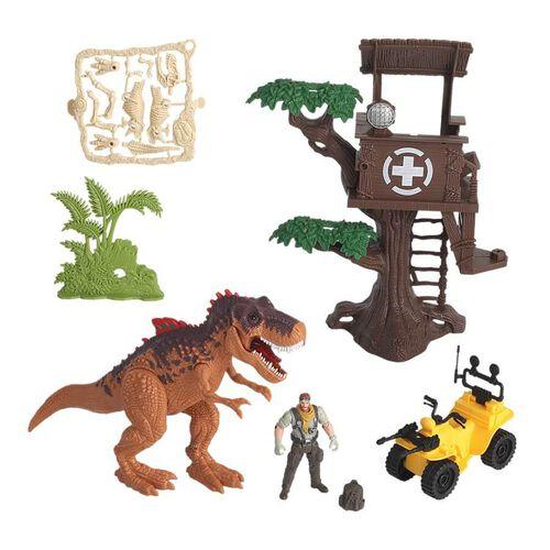 Dino Valley恐龍谷-樹屋場景組