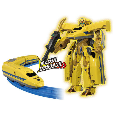 Plarail鐵道王國 DXS102 Plarail Shinkalion 新幹線變形機器人 923黃博士