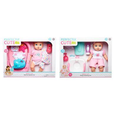 Perfectly Cute 玩具娃娃餵食/沐浴組 - 隨機發貨