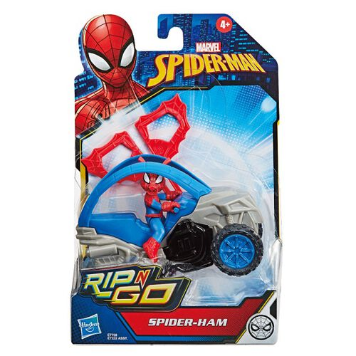 Marvel漫威漫威 蜘蛛人spiderman 英雄載具發射器 - 隨機發貨