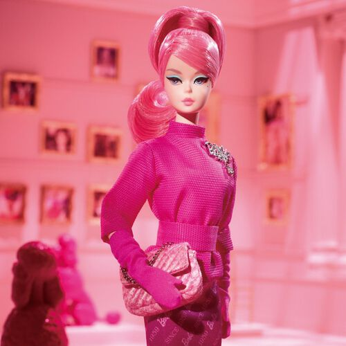 Barbie芭比60週年時尚造型娃娃(收藏型Barbie芭比)