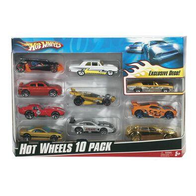 Hot Wheels風火輪10部車