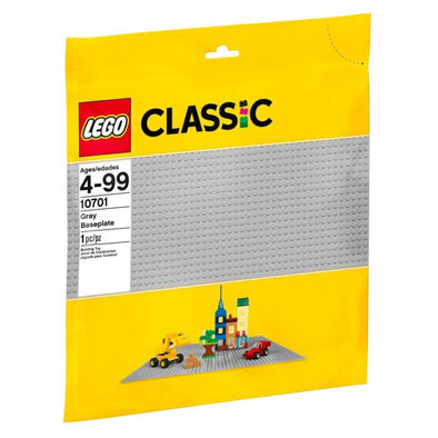 LEGO樂高 Classic 10701 經典基本顆粒系列/灰色底板(38﹒4X38﹒4XM)