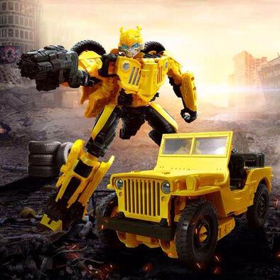 Transformers變形金剛世代系列電影版豪華戰將Roadbuster