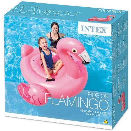 Intex充氣水上紅鶴座騎