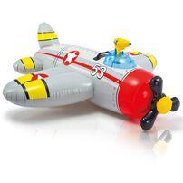 Intex 可愛螺旋槳飛機騎乘(含水槍)(132*130cm)