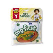 Crayola繪兒樂 幼兒可水洗塗鴉罩衫