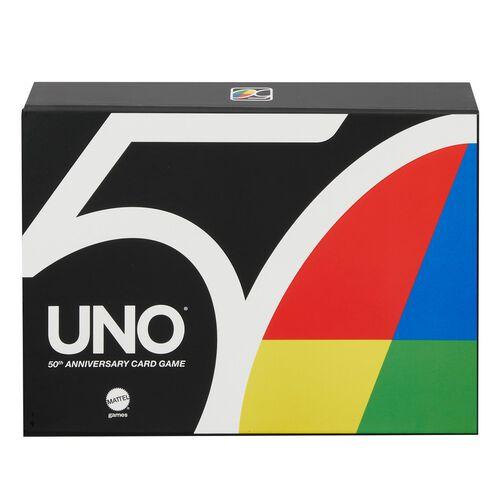 Mattel Games美泰兒遊戲 Uno 50週年特別版