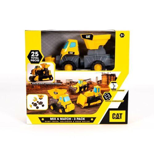CAT 工程車3入組