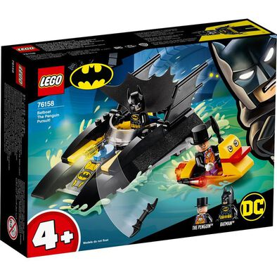 LEGO樂高 76158 Batboat The Penguin Pursuit!